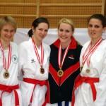 Eva-Maria Novinscak, Doris Kurz,  Stephanie Kaup und Georgia Buchner